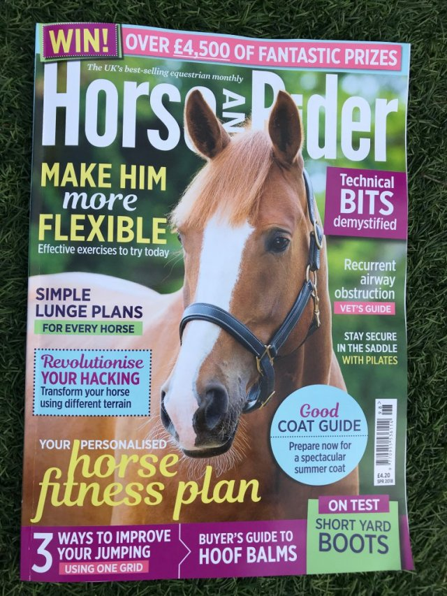 Julie Driver Equestrian Pilates - Horse and Rider - Spring 2018